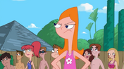 Candace getting everyone's attention