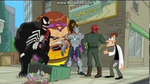 Phineas und Ferb - Die fiesen Freunde und ich
