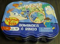 Dominoes & Bingo set - front
