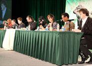 Jim Cummings, Kevin Michael Richardson, Richard Horvitz, Quinton Flynn, Grey DeLisle, Jennifer Hale, Phil LaMarr, & Rikki Simons - ECCC 2013