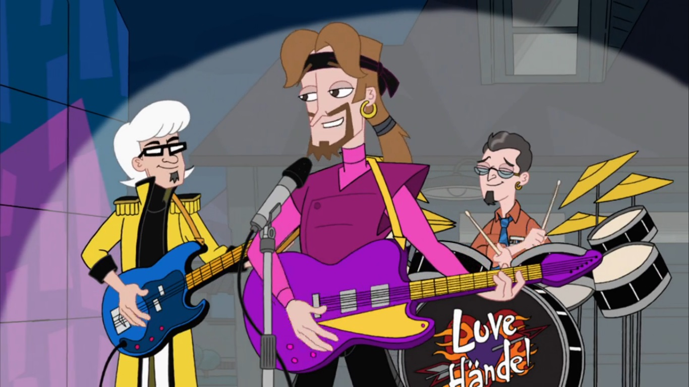 Phineas and Ferb- Dude, We're Getting the Band Back Together