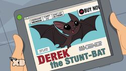 I ordered a retired stunt-bat...