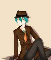 Perry the Platypus - Human, by Monksea