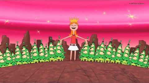 Phineas and Ferb - Queen of Mars
