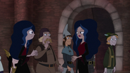S04E25a Candace arrives dressed as vampire queen same as Vanessa