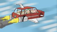 Phineas and Ferb On The Flying Car Of The Future, Today