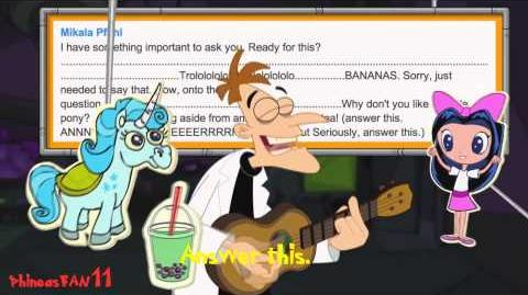 Phineas and Ferb - Dr Doofenshmirtz - Answer This