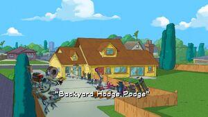 Backyard Hodge Podge title card