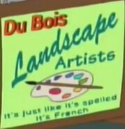 Du Bois Landscape Artists logo