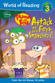 Attack of the Ferb Snatchers! front cover