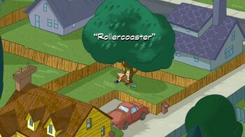 Rollercoster title card
