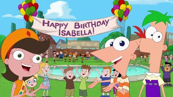Happy Birthday, Isabella