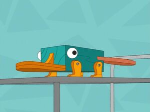 Perry the Inaction Figure