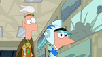 Phineas and Ferb hear Clive Addison
