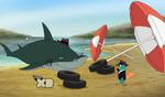 Lald030 Shark is Agent S