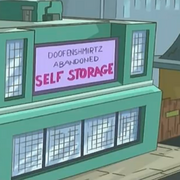 Doofenshmirtz Abandoned Self Storage