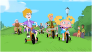 Johnson Family -Tricycles