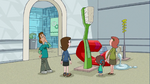 Giant Toothbrush