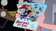 Heros on Ice comic