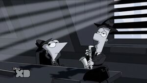 P&F in black and white