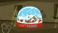 Perry Snow Globe