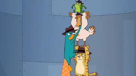 Perry climbing the agent ladder