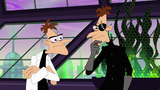2nd Dimension Doofenshmirtz glares suspiciously