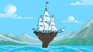 Phineas and Ferb's ship