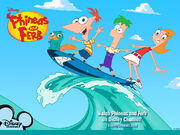 Phineas and Ferb Wallpaper 2