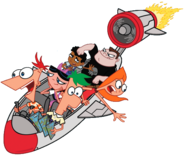 Phineas and Ferb vector djfdk