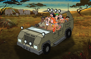 Where's Perry On the savannah