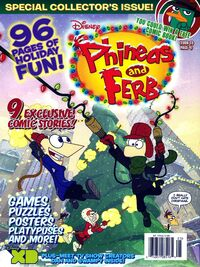 Phineas and Ferb (magazine)/Holiday 2010