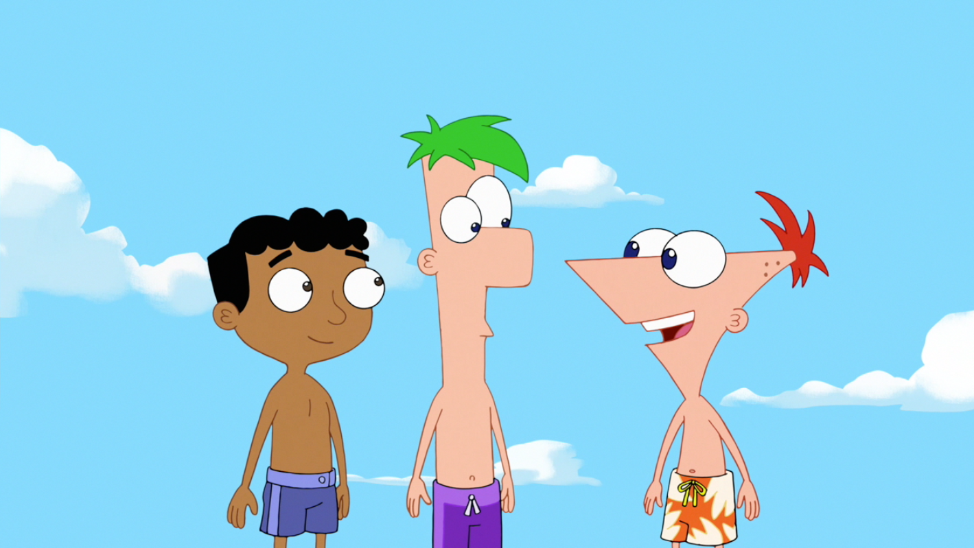 Image Bee Day Phineas Ferb And Baljeet Png Phineas