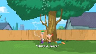 Bubble Boys title card
