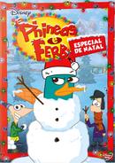 Phineas e Ferb Especial de Natal Capa do DVD