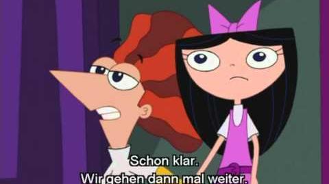 Phineas und Ferb-Song Ein kleiner Schreck wird dir helfen nu(with Lyrics)