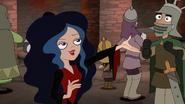 Vanessa blows Monty a kiss
