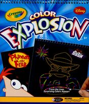 Crayola Color Explosion P&F Deluxe Set - front