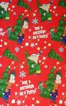 Phineas and Ferb Christmas wrapping paper 2011