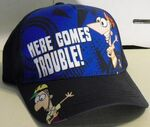 Here Comes Trouble! baseball cap