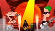 Kick It Up a Notch - Phineas, Ferb, and Slash