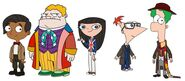 Phineas and Ferb doctors concept art