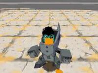 Desert Dimension Platyborg boss
