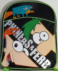 Kids Charter Phineas and Ferb Backpack