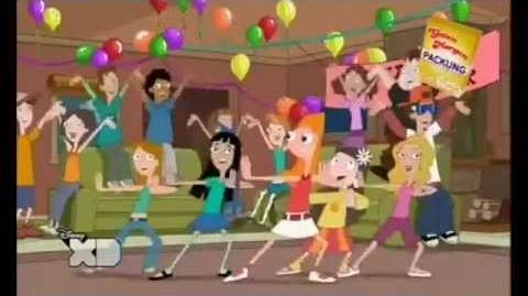 Phineas und Ferb - Candace fliegt auf Song Intimes Beisammensein