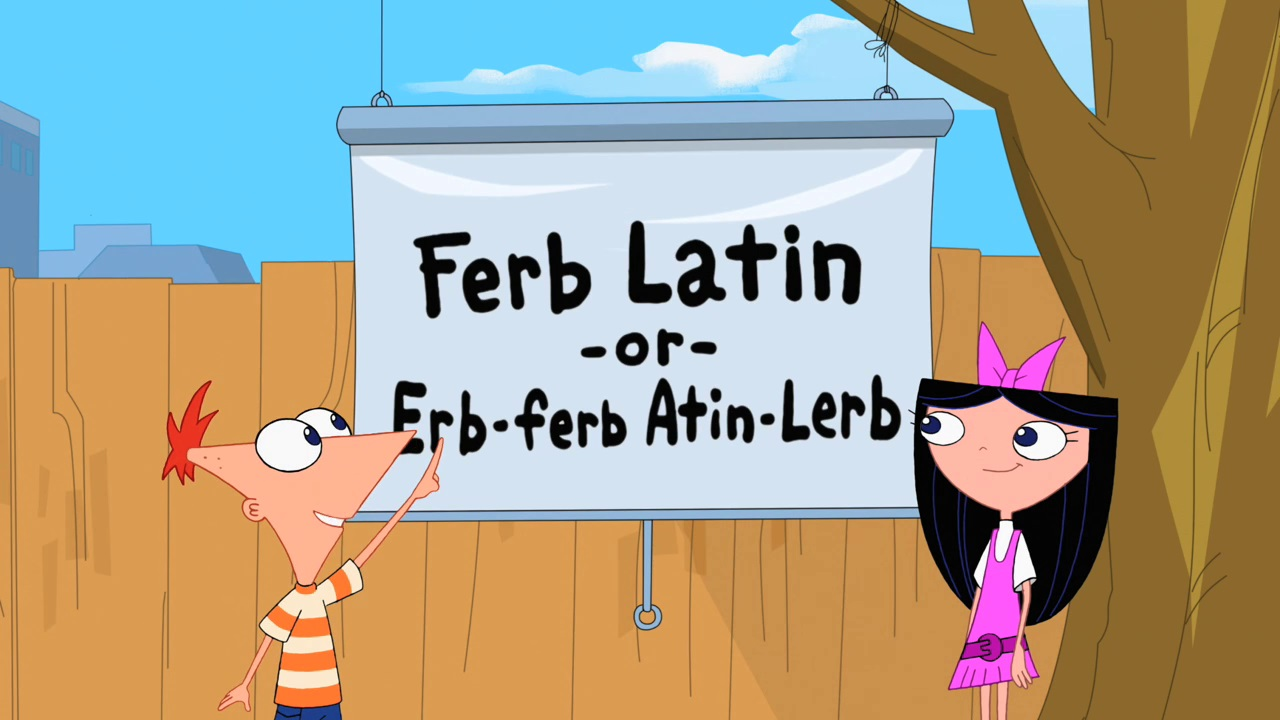 Image Where You Take The First Letter Of Every Wordg Phineas