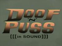 Doof 'N' Puss Theme card