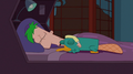 Ferb sleeping with Perry