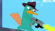 Agent P (Perry the actropuss)