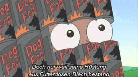 Phineas und Ferb-Song Der Schwarze Ritter(with Lyrics)